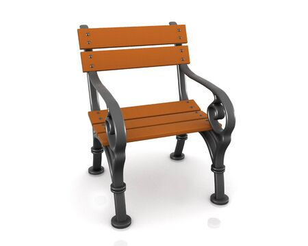 Bench for one person