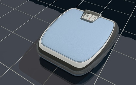 A personal weight scale photo