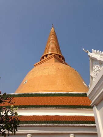 nakhon: Phra Pathom Chedi in Nakhon Pathom