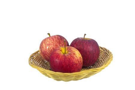 fruitmand: Apples  in a fruit basket