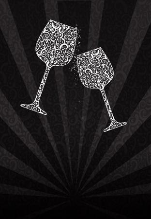 clinking: Tintineo de vasos de encaje