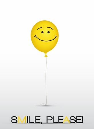 good friend: Smiley balloons card