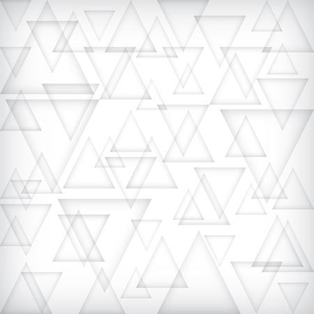 Low polygon gray banner. Delta grey block background. Triangle gradient shadow wallpaper. White bar pattern. Modern geometric vector.