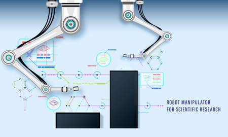 Robot manipulator for scientific research and industrial production