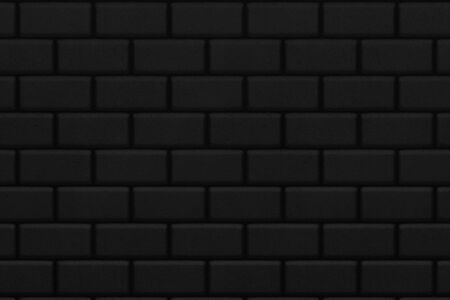 solid: black brick wall background