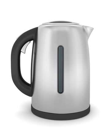 electric kettle isolated on white background Stock Photo - 7794256