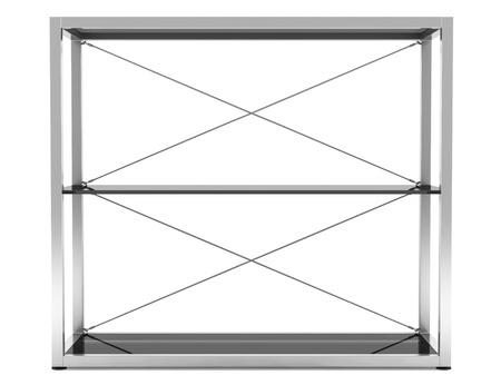 empty office shelves isolated on white background Stock Photo - 11237892
