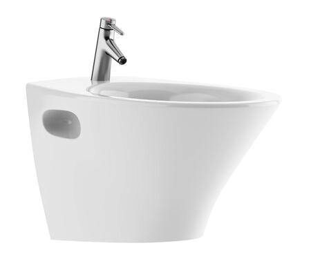 ceramic bidet isolated on white background Stock Photo - 15012414
