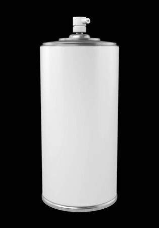 paint spray can isolated on black background Stock Photo - 21222770