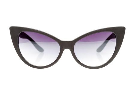 sunglasses isolated: black sunglasses isolated on white background