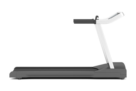 treadmill isolated on white background Stok Fotoğraf