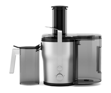 juicer: electric juicer isolated on white background Stock Photo