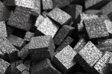 pellets: black styrofoam pellets