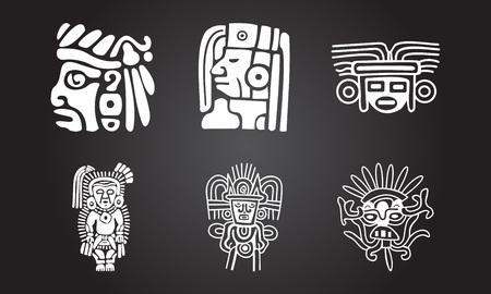 アメリカのインディアン民族のシンボル 写真素材 - 79722037