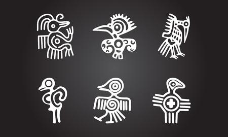American indians ethnic symbols
