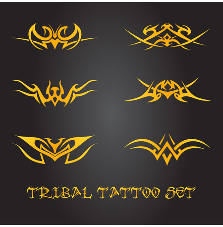 celtic: Tribal tattoo ornaments
