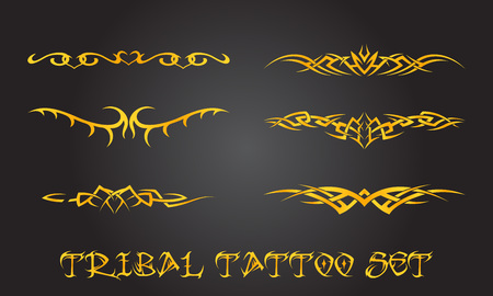 Ornements de tatouage tribal