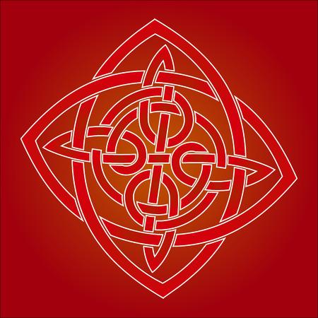 Élément de conception tribal et ornements de tatouage