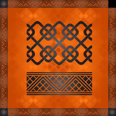 Ornements nationaux africains Banque d'images - 82414333