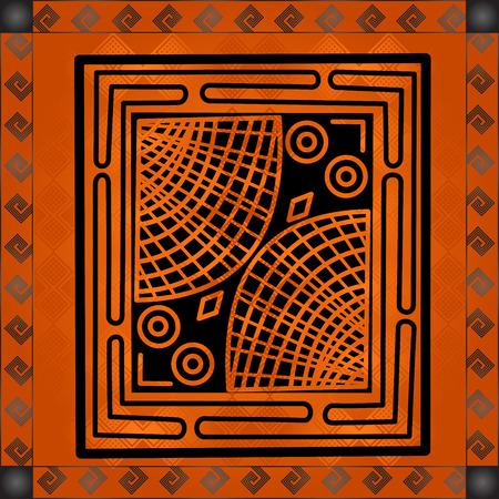 Ornements nationaux africains Banque d'images - 82414423