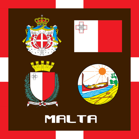 Official government ensigns of Malta
