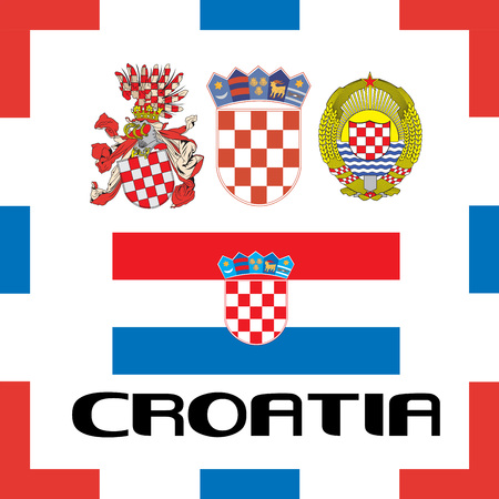 Official government ensigns of Croatia