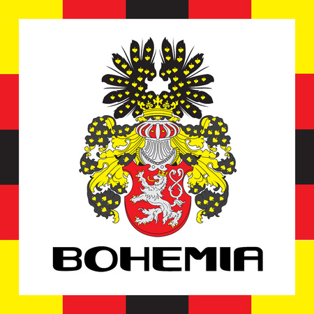 Official government ensigns of Bohemia