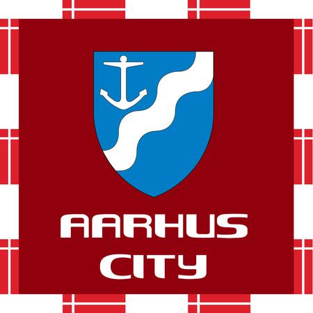 National ensigns of Denmark - Aarhus
