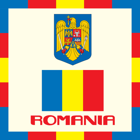 Official government ensigns of Romania