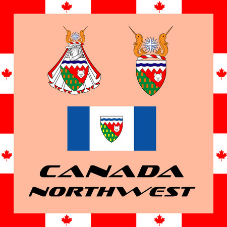 Official government elements of Canada - Northwest