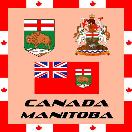 Official government elements of Canada - Manitoba