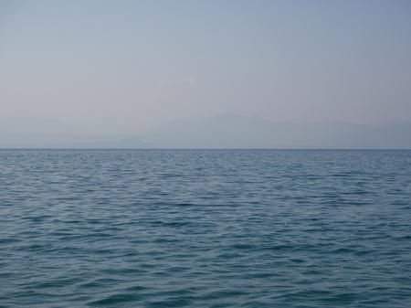 Landscape of lake water 写真素材