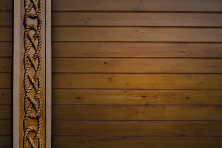 wood texture with vertical relief pattern photo