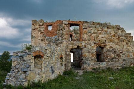 castle ruins Фото со стока