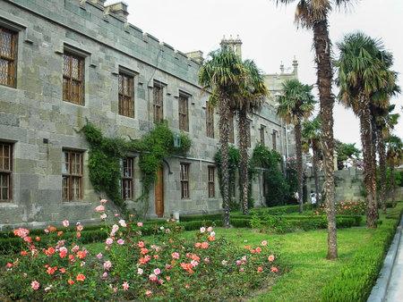 ukraine: Vorontsov Palace in Crimea, Ukraine