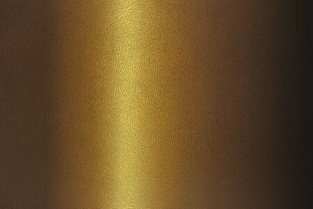 horizontal position: texture of leather golden color closeup horizontal position
