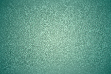 horizontal position: leather texture turquoise color closeup horizontal position Stock Photo