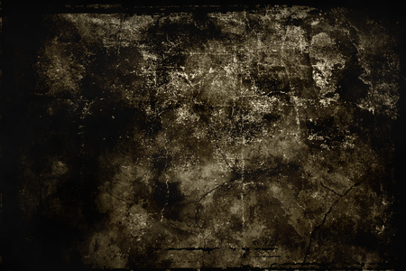gloom: dark abstract stylized background with grange texture Stock Photo