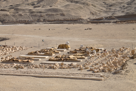 finds: archaeological finds from the Temple of Hatshepsut