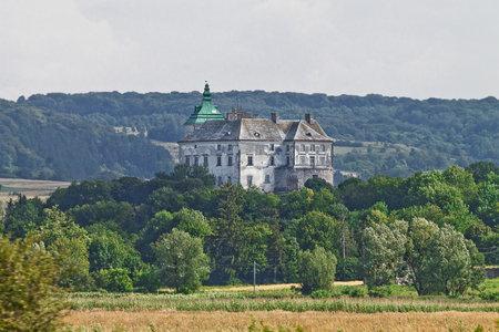 14th century: ancient Olesko castle of the 14th century in Ukraine
