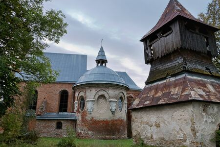 sil: The Church of St. Michael the Archangel of the 17th century in the village of Stara Sil in Ukraine