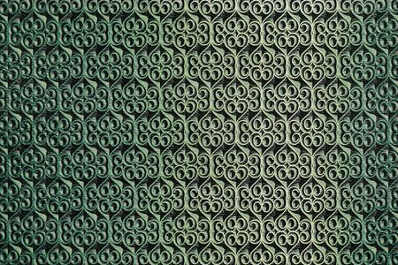green background with abstract relief seamless pattern Stock Photo