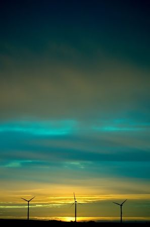 Sunset Wind Stock Photo - 3176441