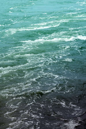 Detail of flowing water. Stock Photo - 7411538