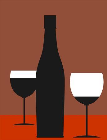 Illustration of drinks Stock Illustration - 3419316