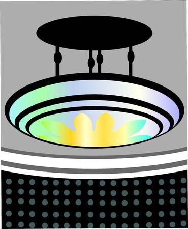 sealing: Illustration of a sealing light