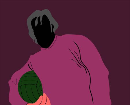nba: Illustration of silhouette of a basketball player
