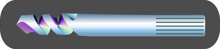 gimlet: Illustration of a driller bit