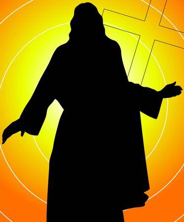 イエス ・ キリストの図 写真素材