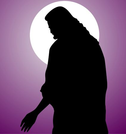 bible shepherd: Illustration of Jesus Christ